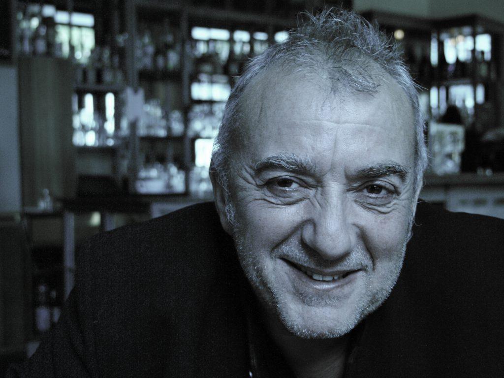 Konzertankündigung André Herzberg auf der Wasserburg Roßlau