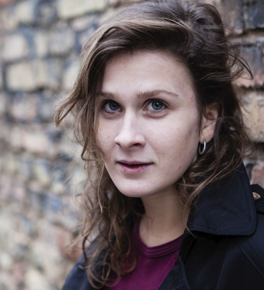 Mora Thurow,Schauspielerin im Sommertheater Dessau-Rosslau