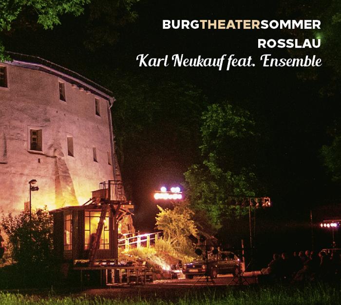 Cover der CD des Burgtheatersommers Roßlau in Dessau Roßlau mit Karl Neukauf.