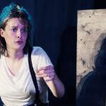 """Die Schauspielerin Jasmin Loreen Besemer im Kinderstück """"Das Kalte Herz"""" beim Sommertheater Dessau-Rosslau"""